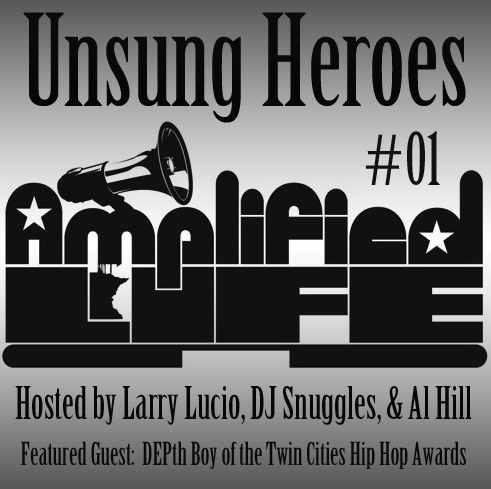 AmplifiedLife: UnsungHeroes #01 Artwork