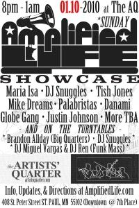 AmplifiedLife.com Q1 Showcase Flyer Rough Draft #01.12392009