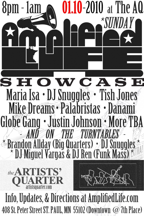 AmplifiedLife.com Q1 Showcase Flyer Rough Draft #01.12392009