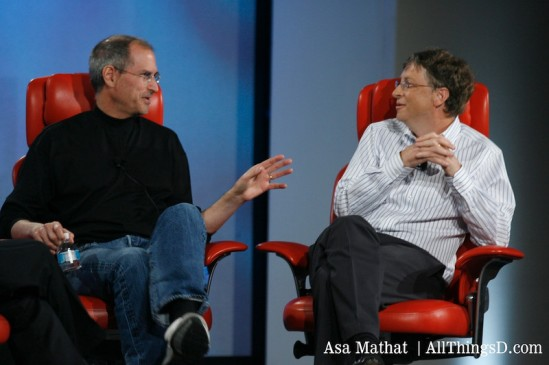 Bill Gates and Steve Jobs Session Photos