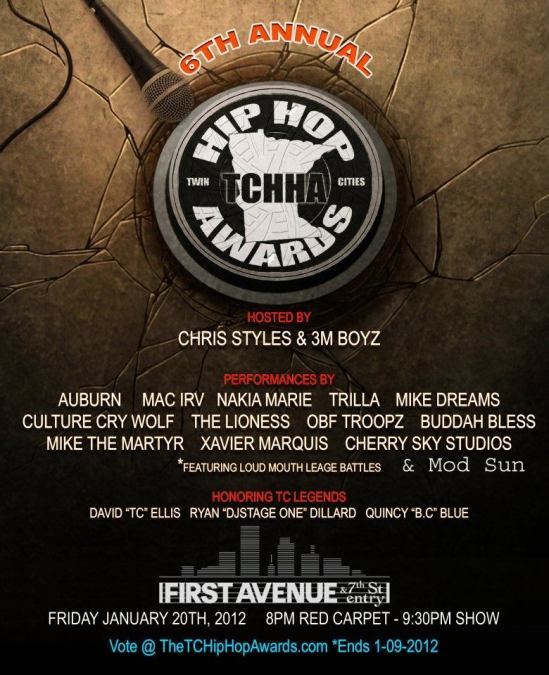 The 6th Annual Twin Cities Hip Hop Awards