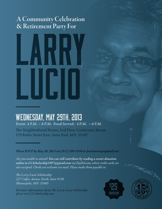 Lucio Retirement Flyer